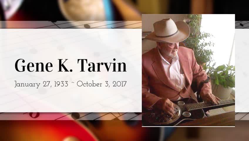 Obituary for Gene K. Tarvin