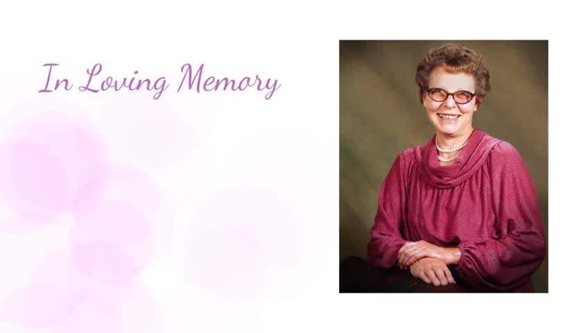 In Memory of Fern Peterson -- Wood Funeral Home, Idaho Falls, ID