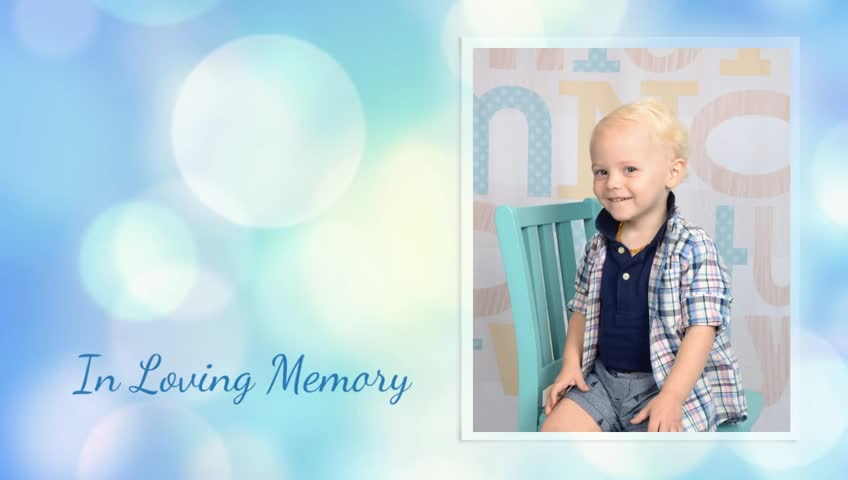 Tribute For Conner Charles Delong